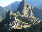 Machu Picchu at first light
